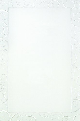 Pearl Foil Swirls Print at Home Invitation Kit