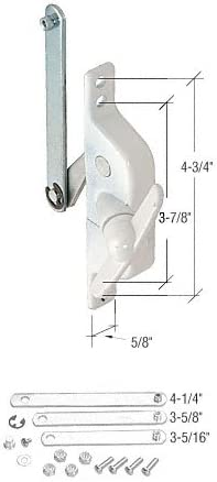 White Universal Louver Operator