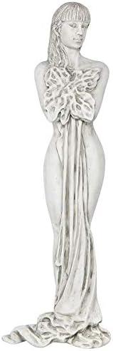Design Toscano Darcy's Drape Wall Sculpture, Antique Stone Finish