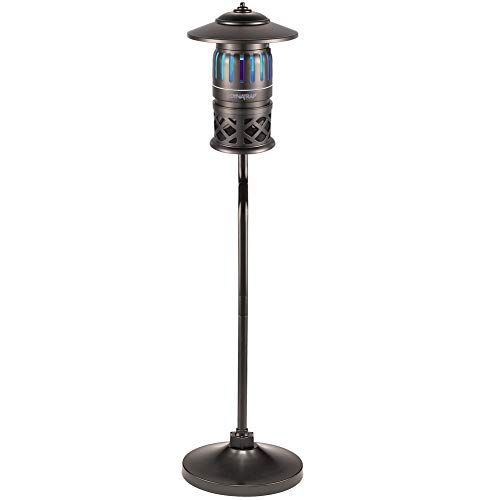DynaTrap Insect Trap (DT1260-TUN), Pole Mount, Twist On/Off, 1/2 Acre, Decora Series, Tungsten