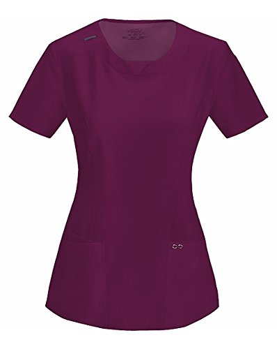 cherokee-womens-infinity-round-neck-top-wine-2x-large