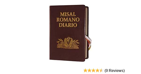 Misal Romano Diario (Encuadernada En Piel): God: 9781890177164: Amazon.com: Books