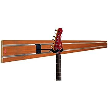 Amazon Com Angled Guitar Wall Hanger Display For Electric