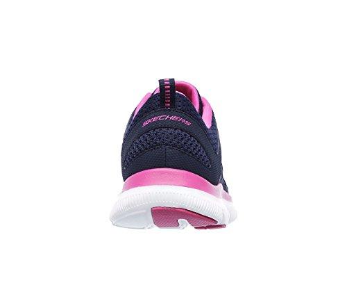 Dual Azul Athletics Skechers Marino Para Mujer Rosa Lite RqT5P5Uw