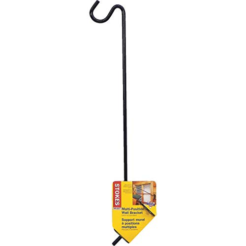 - Stokes Select 18-Inch Multi-Position Metal Wall Bracket with Mount for Bird Feeders