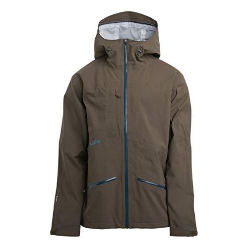 (Flylow Higgins 2.1 Jacket - Men's Fernet, L)