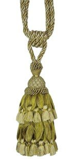 TL Single Tassel Tiebacks by TL