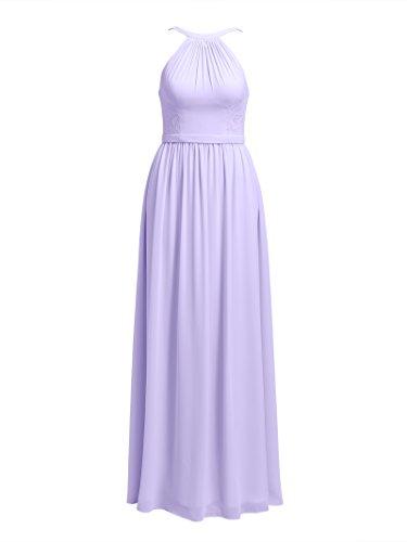 Bridesmaid Dresses Maxi Alicepub Prom Party Lilac Formal for Dress for Wedding Long 15w7qxa