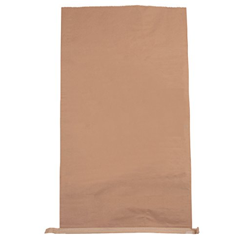 Brown EAST RIDING SACK BBS0006 Plain Paper Waste Sack 485 mm x 150 mm x 910 mm Pack of 50