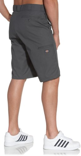 Dickies Men's 13 Inch Inseam Striped Work Short With Multi Use Pocket