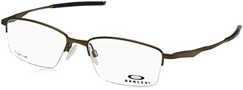 Oakley OX 5119 02 Limit Switch 0.5 Satin Pewter Metal Rectangle Eyeglasses 54mm ()