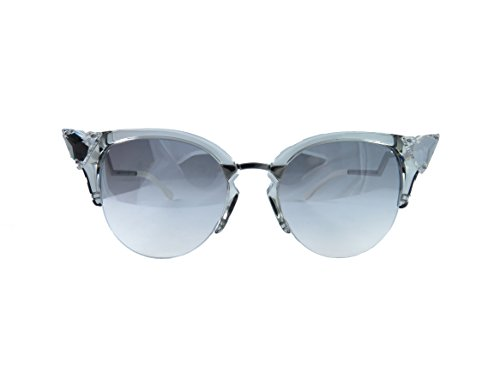 Fendi 0041/S 27C Crystal with (FU) SIlver Lenses 52MM