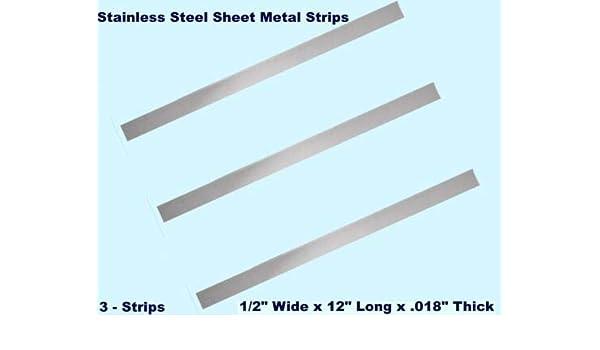 .018 SS Sheet Metal