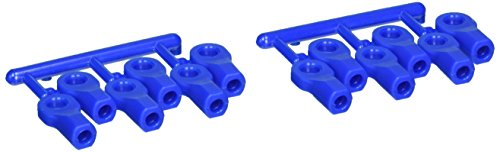 Rpm Rod (RPM Traxxas Short Rod Ends, Blue)