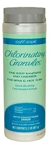 SpaGuard Soft Soak® Stabilized Chlorinating Granules, (900G) Sanitizer SKU 4203 BioGuard