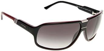 Carrera Gafas de sol Para Hombre Tekno - 27I/9O: Negro / Rojo