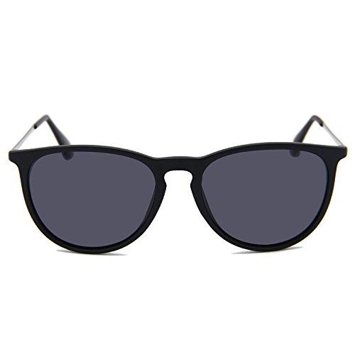 AMZTM Negro helado de sol para Gafas mujer BwT1qrB6