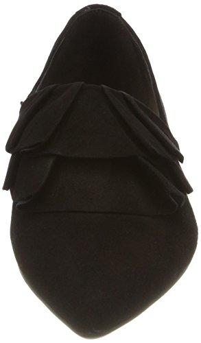 Marc OPolo Loafer 80114423201302, Bailarinas con Punta Cerrada Para Mujer Schwarz (Black)
