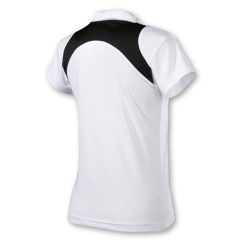 HEAD Club - Polo de tenis para mujer Blanco / Negro (Weiß/Schwarz)