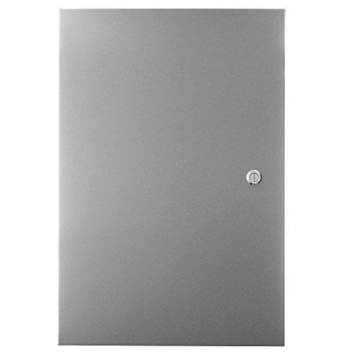 Wiegmann N1C243608LP N1C-Series NEMA 1 Hinged Door Wall-Mount Enclosure, Less Panel, Steel, Medium, 36