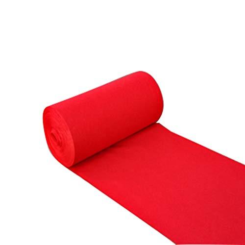 Alfombra Redonda Los Corredores de alfombras VIP de Boda de Flash de una Sola Vez Son adecuados para Fiestas de pasillos de...