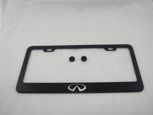 infiniti-black-license-plate-frame-with-cap