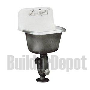 Kohler K 6716 0 Bannon Service Sink White Utility Sinks