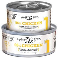 """Before Grain 96% Chicken Formula Canned Cat Food """"1"""" 24/3.2 oz, My Pet Supplies"""
