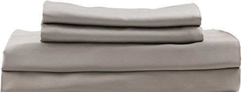 Hotel Sheets Direct Luxury 100% Bamboo Bed Sheet Set - Eco-Friendly, Hypoallergenic, Wrinkle Resistant. Bamboo 3 Piece Bed Sheet Set (Twin XL, Sand)