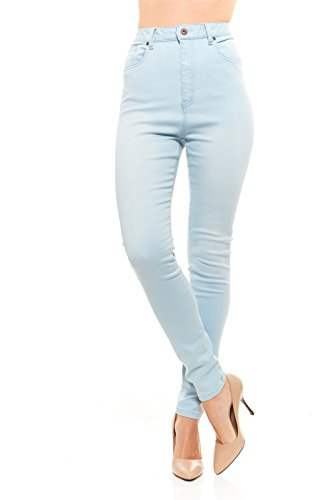 Red Jeans Women's Casual High Rise Stretchy Denim - The Pakistan New