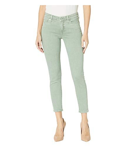 - Lucky Brand Women's Mid Rise Ava Skinny Jean, Iceberg Green, 32W X 27L