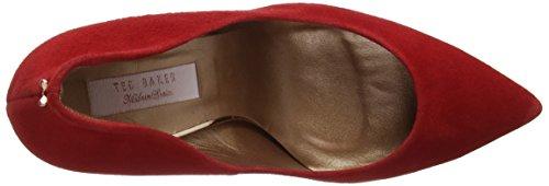 Savio Rojo 2 Punta para Baker Ted Red Mujer Ff0000 de con Cerrada Tacón Zapatos 5PZnwExa