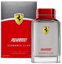 Ferrari Scuderia Club (フェラーリ セキュデリア クラブ) 4.2 oz (125ml) EDT Spray by Ferrari for Men