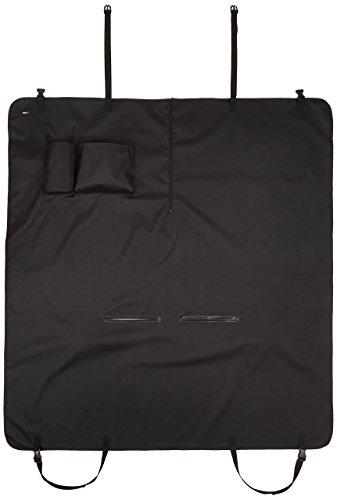 AmazonBasics Waterproof Car Hammock Rear Seat Cover for Pets - 55 x 59 Inches, Black