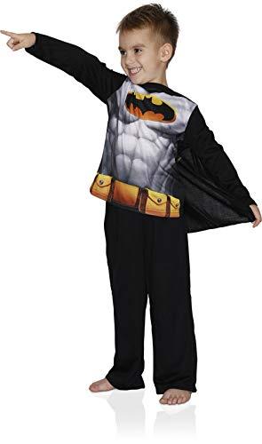 Batman Big Boys' Batman Costume Poly Cape Set, Black, X-Small ()