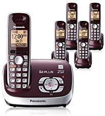 Panasonic KX-TG6572R + 3 kx-tga653 terminales 1,8