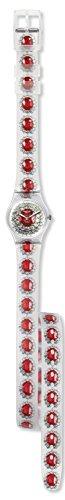 Swatch Women's Originals LK342 Multi Rubber Swiss Quartz Watch
