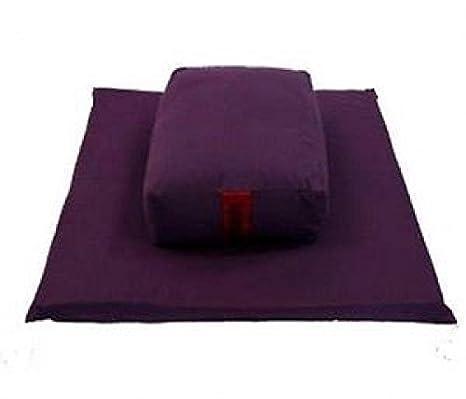 Meditación Cojín rectangular 7, Chakra coronario - Púrpura ...