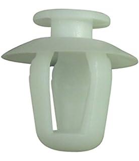 20 x Citroen Remaches Plásticos - Clip Moldura Puerta Exterior Citroen Saxo Xsara - Coche Grapas