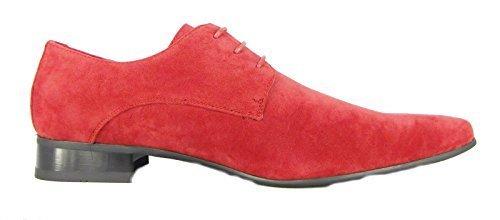 Hommes Garçons Rossellini Chaussures Décontractées Classiques - Rouge, Homme, EU 46