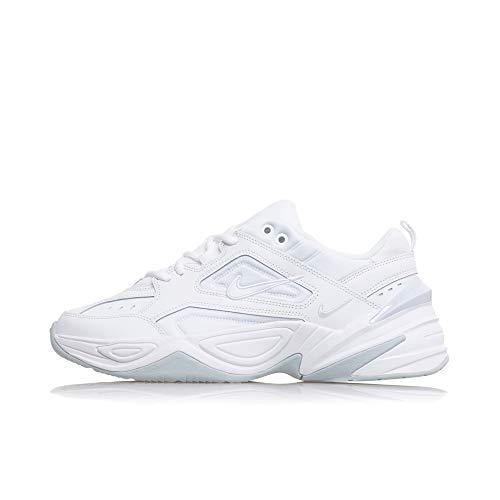 Platinum Tekno Bianco da Scarpe Uomo NIKE 101 M2k White Ginnastica White Pure Basse q5FwP4