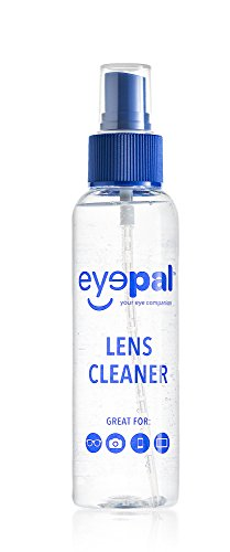 EyePal Lens Cleaning Care Spray for Glasses, Camera & LCD Screens - - Cleaner Eyeglass Lenscrafters