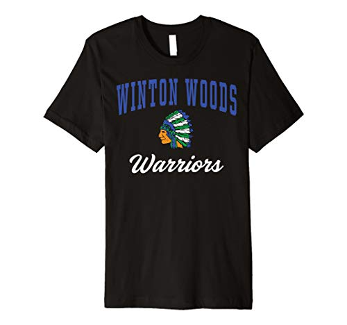 Winton Woods High School Warriors Premium T-Shirt C3