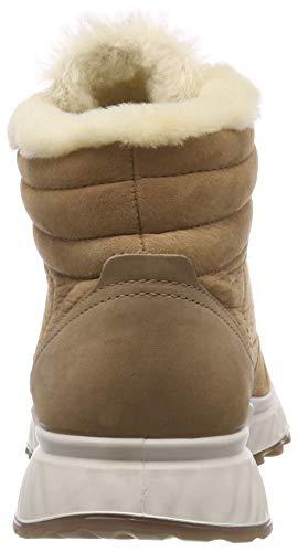 Marrón St Ecco Cashmere Zapatillas para 1 Altas Mujer 51266 qg7pvwfB7x