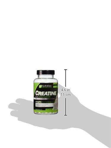 NutraKey Creatine Monohydrate Capsules,.