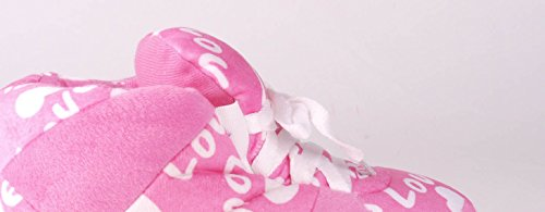 Standard Femminile Piedi Pantofole Tennis Da Amore Di Scarpa E Maschile Felici Rosa aqqH8wUE