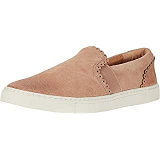 Frye Women's Ivy Scallop Slip On Sneaker, Pale Blush, 6.5 M US