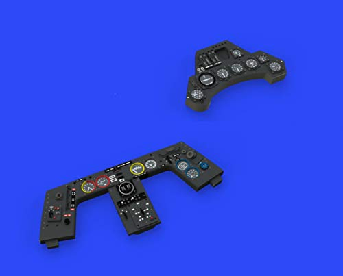1:48-Fw190A-8 L K Instrument Panel Model Kit Brassin, Various - Eduard EDB644015