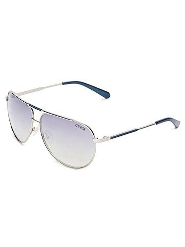 GUESS Factory Men's Pilot Aviator Sunglasses