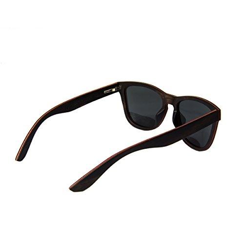 Madera Madera Gafas Wola En Aero Sol Sunglasses Y Cuadradas De Polarisado Mujer Ébano Hombre Uv400 Estilo xPPrwRqY